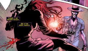 Joker kaleczy Batgirl
