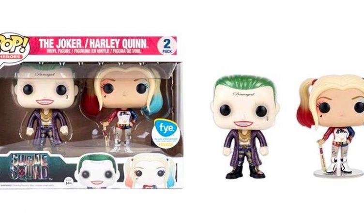 Figurka POP Suicide Squad - Joker i Harley QUinn