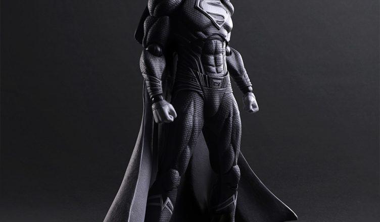 Czarno-biały Superman