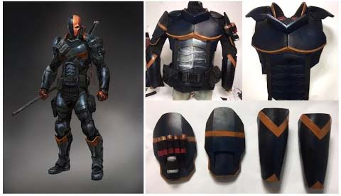 Deathstroke cosplay