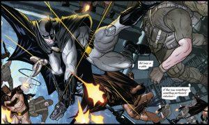 Batman pokonuje armię Bane'a