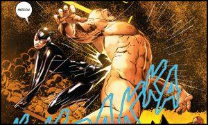 "Catwoman ""łamie"" Bane'a"