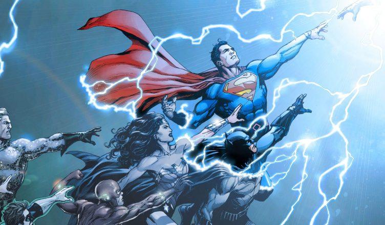 DC Rebirth tło