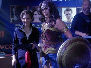Klaudia Croft promująca Warsaw Comic Con