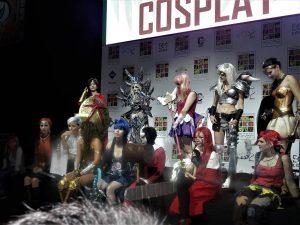 Finaliści konkursu cosplay