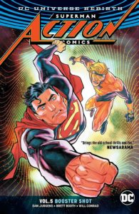Action Comics Vol. 5: Booster Shot
