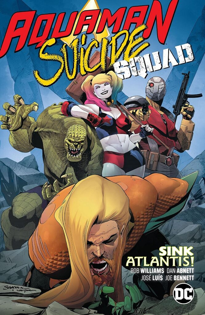 Aquaman / Suicide Squad: Sink Atlantis!