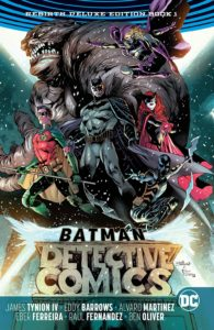 Detective Comics: Rebirth Deluxe Edition Book 1