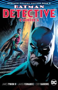 Detective Comics: Rebirth Deluxe Edition Book 4