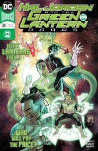 Hal Jordan and the Green Lantern Corps #34