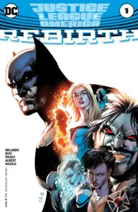 Justice League of America: Rebirth #1