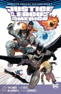 Justice League of America: Rebirth Deluxe Edition Book 1