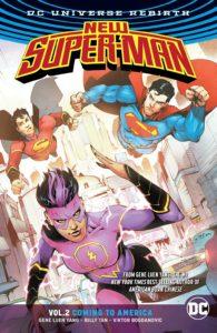 New Super-Man Vol. 2: Coming to America
