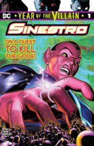 Sinestro: Year of the Villain #1