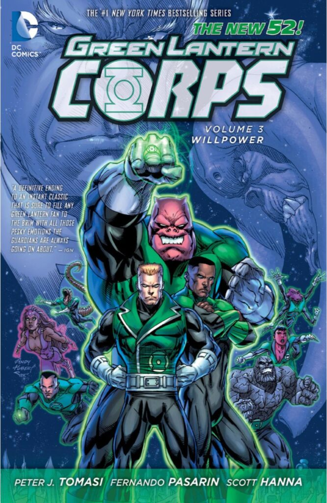 Green Lantern Corps Vol. 3: Willpower