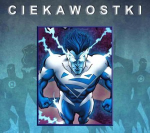 Biało-niebieski Superman