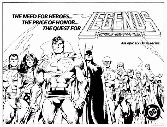 Legends DC Comics 1986 rok