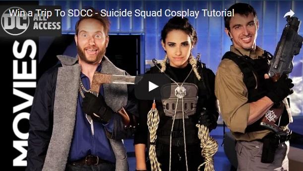 Suicide Squad Cosplay Tutorial