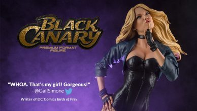 Black Canary Premium Format Figure od Sideshow Collectibles