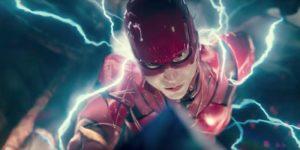 Flash podczas jego biegu