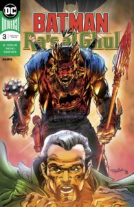 Batman vs Ra's al Ghul #3