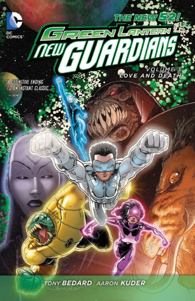 Green Lantern: New Guardians Vol. 3: Love and Death